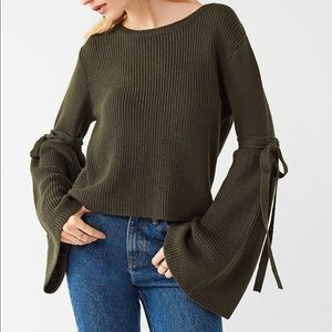 URBAN OUTFITTERS Extreme Bell Sleeve Sweater